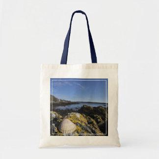 貝殻は石|ダンフリース、スコットランドで置かれます トートバッグ