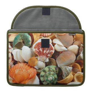 貝殻パターンmacbookの袖 MacBook proスリーブ
