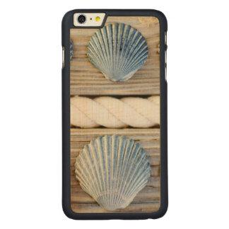 貝殻|ニューヨークシティ CarvedメープルiPhone 6 PLUS スリムケース