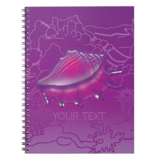 貝殻 ノートブック