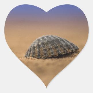 貝殻 ハートシール
