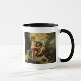 貝、c.1670を持つ男の子 マグカップ