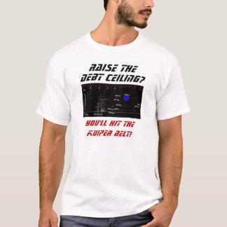 負債限度を上げて下さい Tシャツ