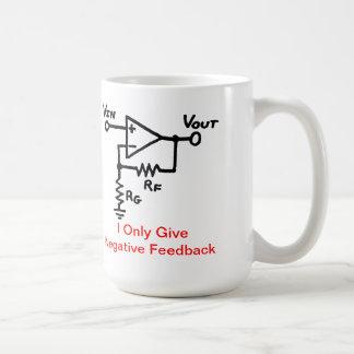 負帰還のコーヒー・マグ コーヒーマグカップ