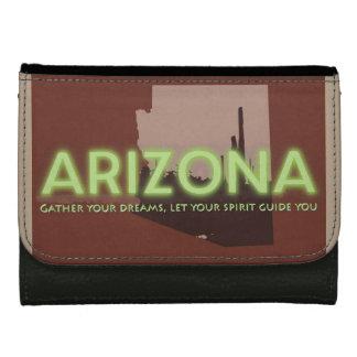 財布のアリゾナの黒い中型の革精神 ウォレット