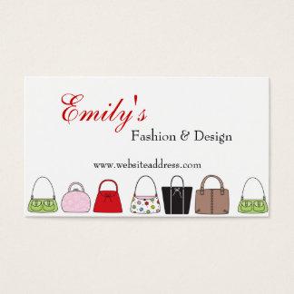 財布のデザイン3のファッションビジネスカードのライン 名刺