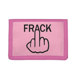 財布のFrackフリップ