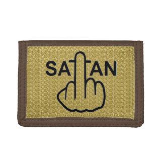 財布のSatanフリップ