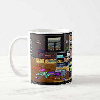 財布部屋のマグ コーヒーマグカップ
