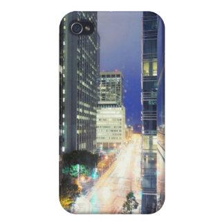 財政の出張所の建物の眺め iPhone 4/4Sケース