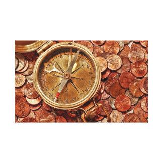 財政の方向 キャンバスプリント