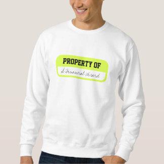 財政の魔法使いのスエットシャツの特性 スウェットシャツ