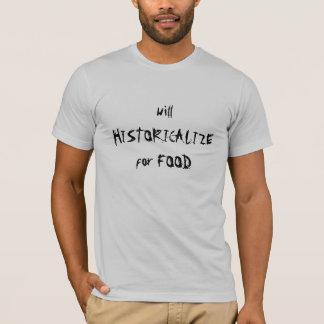 貧しい歴史家 Tシャツ
