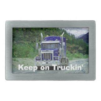 貨物トラックの運転手の輸送のバックル 長方形ベルトバックル