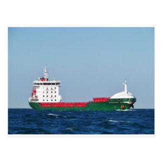 貨物船Muzafferアナ ポストカード