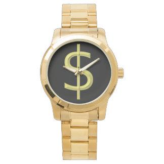 販売のためのドル記号の腕時計、! 腕時計