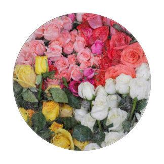 販売のためのバラ、サン・ミゲルdeアジェンデ、メキシコ カッティングボード