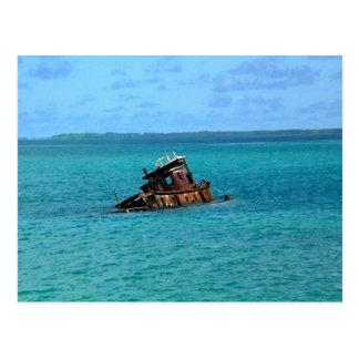 販売のためのボート、安く ポストカード