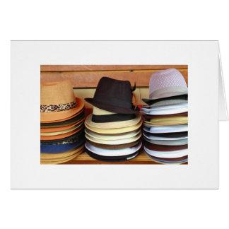 販売のための帽子 カード