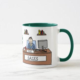 販売のチームギフト-名前入りな漫画のマグ マグカップ