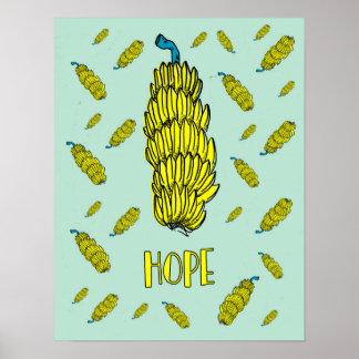販売のバナナの希望ポスター引用文を離れて30% ポスター