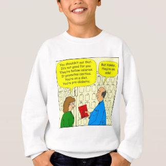 販売の漫画の460軽食 スウェットシャツ