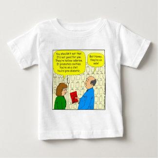 販売の漫画の460軽食 ベビーTシャツ