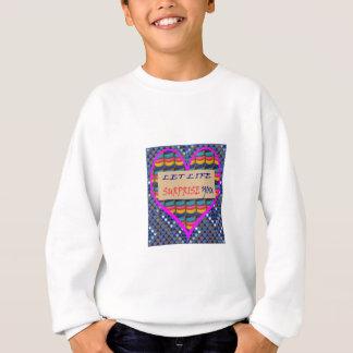 販売の生命驚きの知恵の引用文の芸術的なワイシャツ スウェットシャツ