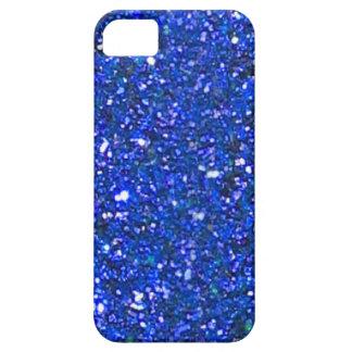 販売の豪華で青いグリッターのiPhone 5の箱 iPhone SE/5/5s ケース