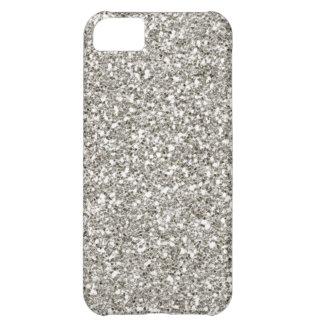販売の豪華な銀製のグリッターのiPhone 5の場合 iPhone5Cケース
