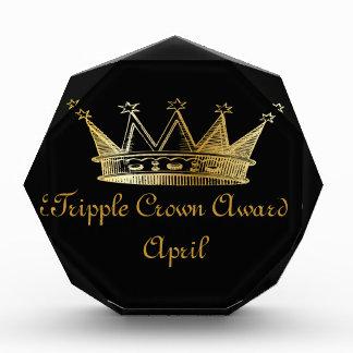 販売賞の王 表彰盾
