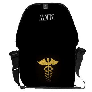 販売! 医学のケリュケイオンの人力車のバッグ メッセンジャーバッグ