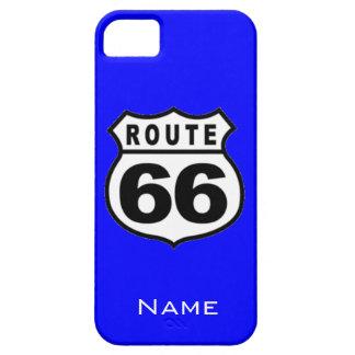 販売-名前をカスタムするのルート66のiPhone 5の場合 iPhone SE/5/5s ケース