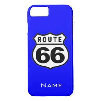 販売-名前をカスタムするのルート66のiPhone 7の場合 iPhone 8/7ケース
