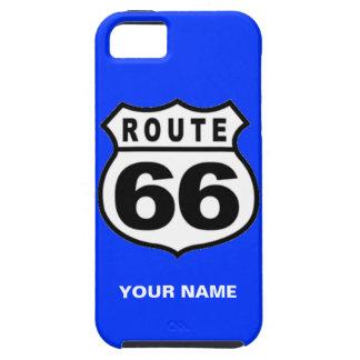 販売-名前をカスタムするの敗走66のアメリカのiPhone 5の場合 iPhone SE/5/5s ケース