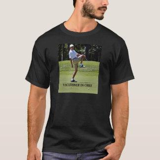 責任者のオバマの行楽客 Tシャツ