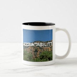 責任能力のマグ ツートーンマグカップ