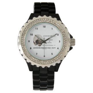 責任能力の母注意のBierce辞書 腕時計