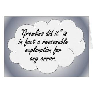 責任能力: 間違いが生じる時次に カード