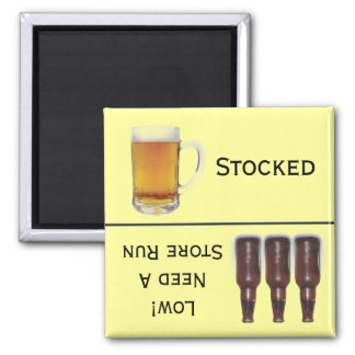 貯蔵されるビールか店の操業アルコールメモ マグネット