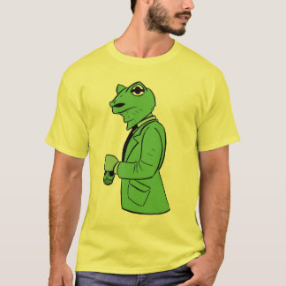 貯蔵所のカエル Tシャツ