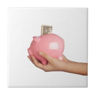 貯金箱の節約 タイル