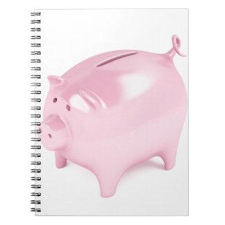 貯金箱 ノートブック