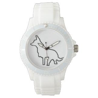 貴重なペニーの輪郭 腕時計