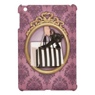 買い物袋のフレンチ・ブルドッグ iPad MINIケース
