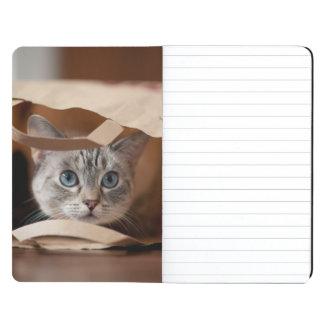 買い物袋の子ネコ ポケットジャーナル