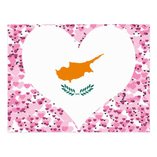 買物のキプロスの旗 ポストカード