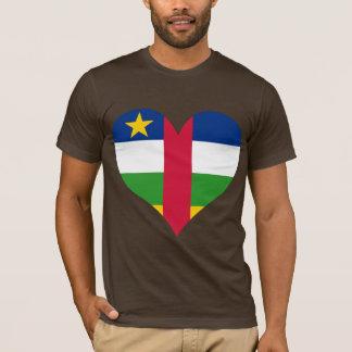 買物の中央アフリカの旗 Tシャツ