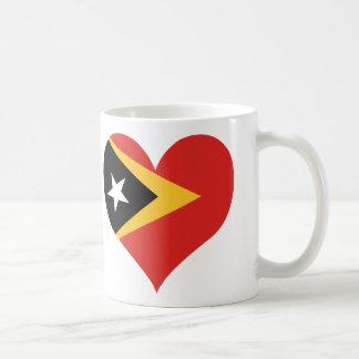 買物の東部チモール島の旗 コーヒーマグカップ