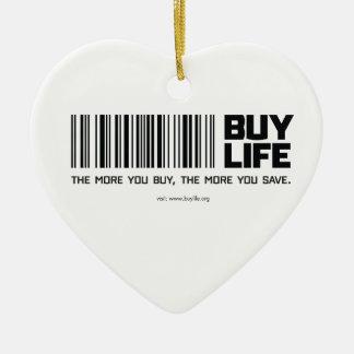 買物の生命 セラミックオーナメント